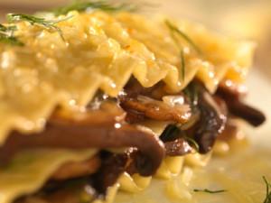 umami recipes mushroom lasagna