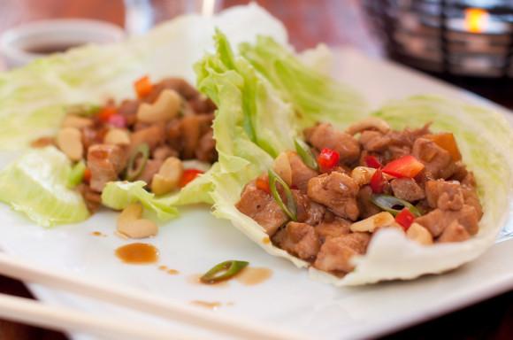 lettuce wraps chicken and cashews recipe