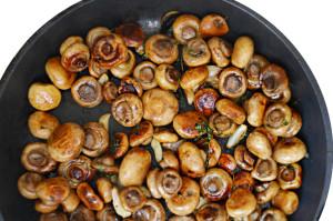 garlic marinated mushromms