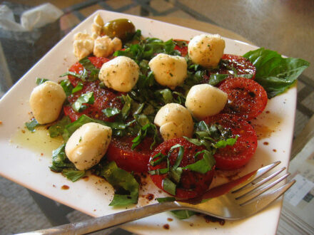 Tomato and dirt salad recipe