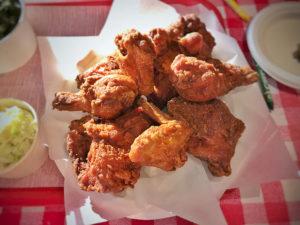 Vinegar fried chicken