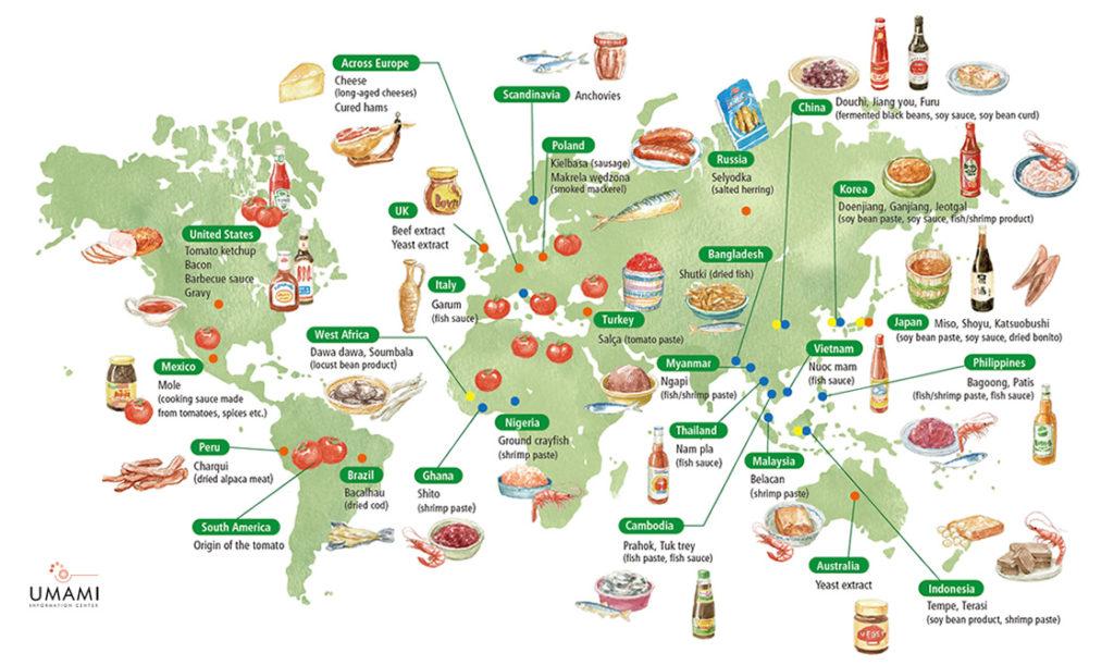 Umami Around the World
