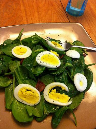Vermont Spinach Salad Recipe