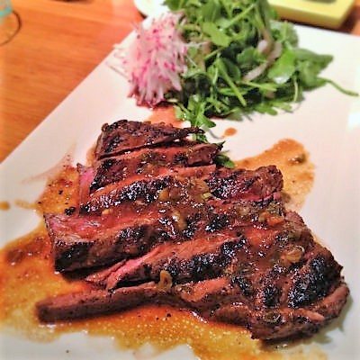 Flank Steak in Marinade