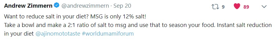Reduce salt in your diet
