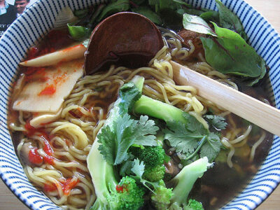 Vegan-Vegetarian Ramen Recipe