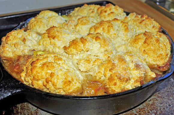 Beefy Chili Biscuit Casserole
