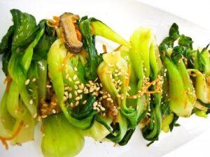 Asian grilled vegetables